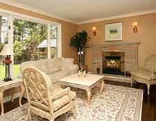 Living Room After Home Staging Toronto